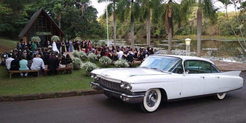 Cadillac Fletwwod branco