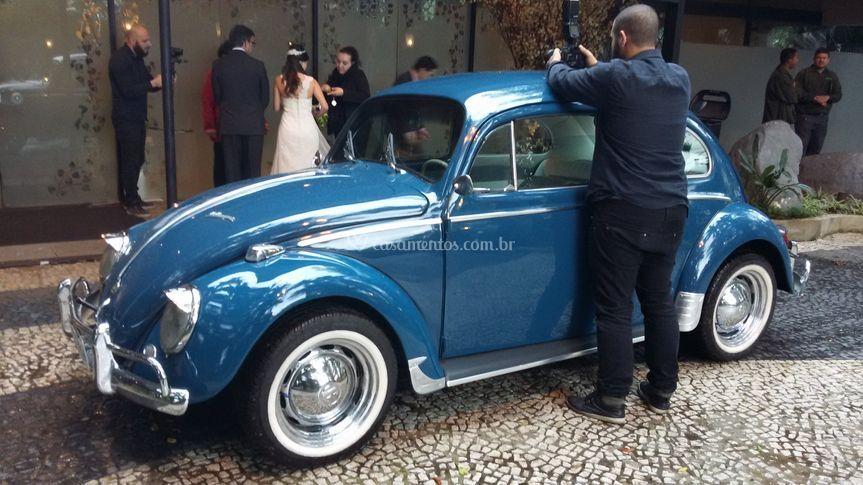 Fusca 1965 azul