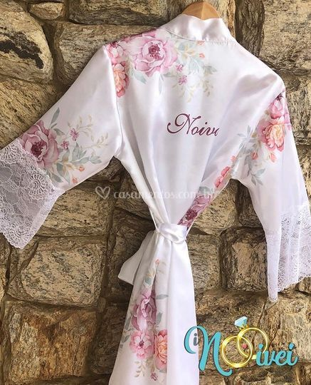 Robe elegance com renda