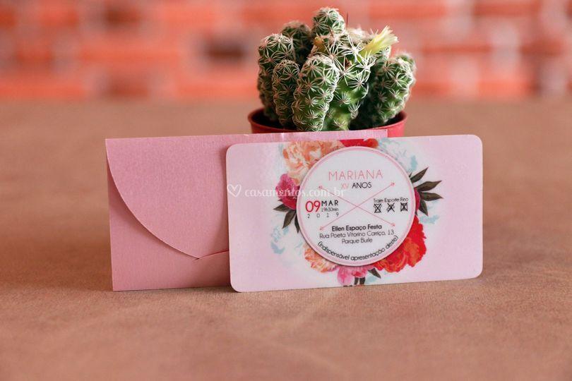 Convites Individuais em PVC