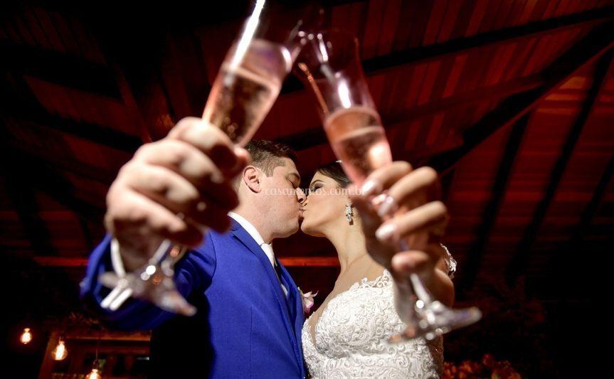 Um brinde ao amor