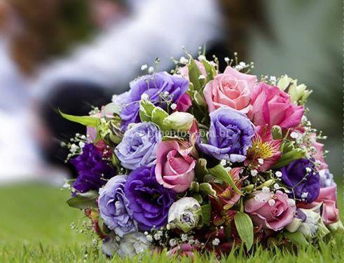 Belo bouquet de rosas