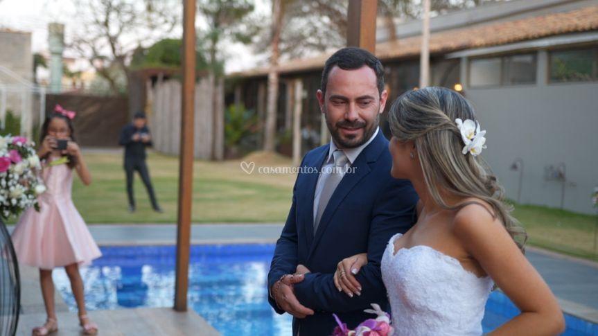 Frames de Fernando e Vanessa