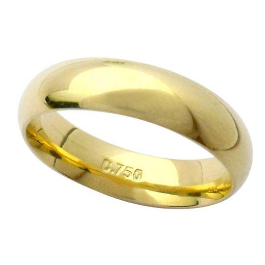 Aliança Elos 5,7 mm em Ouro