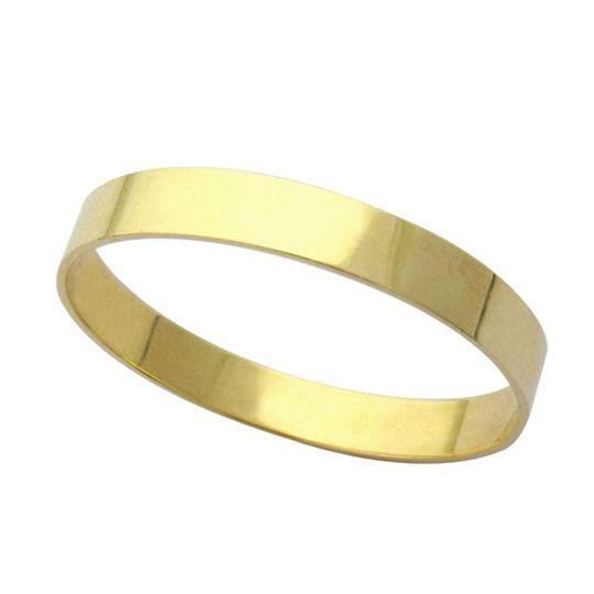 Aliança Reta 3mm em ouro