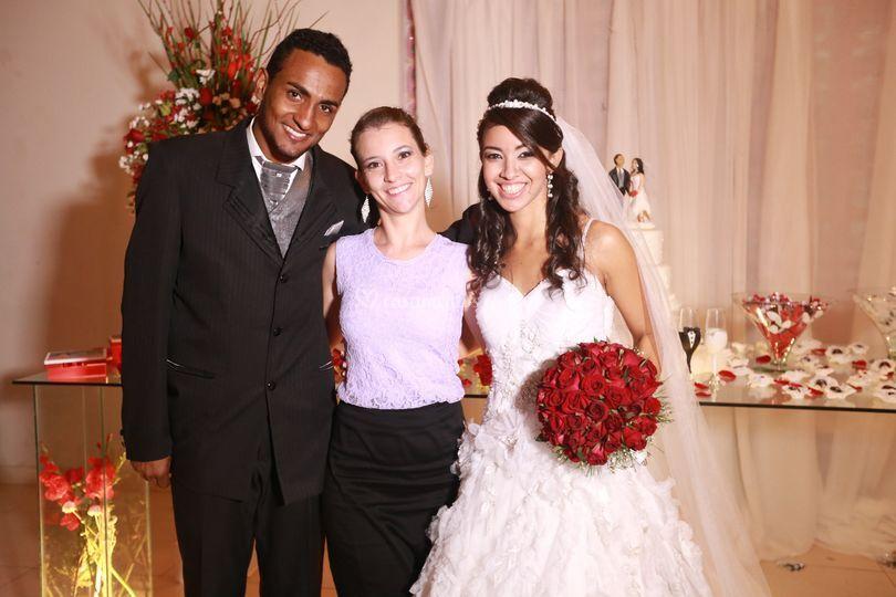 Casamento Jeniffer e Maury