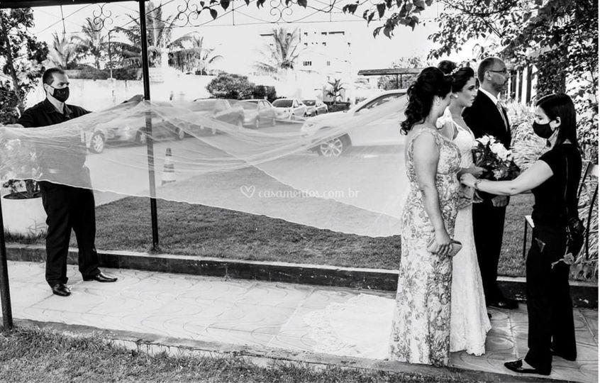 Dedicação no seu casamento!