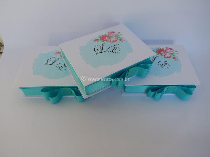 Caixa cartonada tamanho 15x20