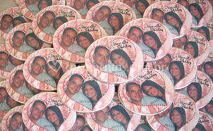 Latinhas com foto dos noivos
