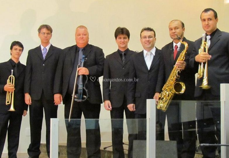 Membros da orquestra