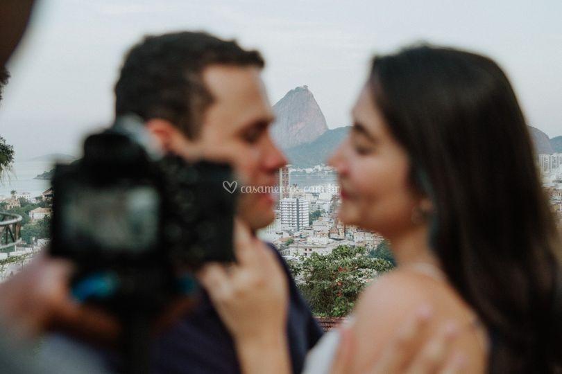 Gravando no Rio de Janeiro