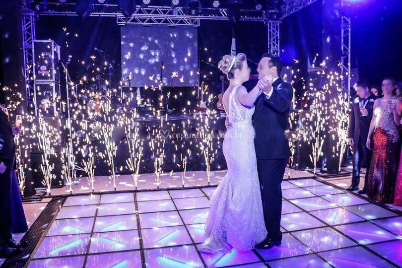 Momento valsa dos noivos