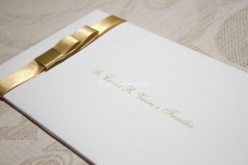 Convite de Casamento Básico