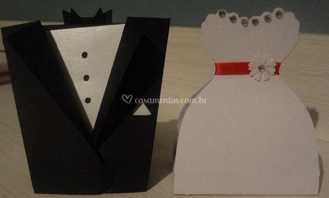 Caixas para bem-casados