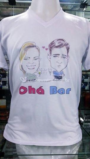 Camiseta personalizada chá bar