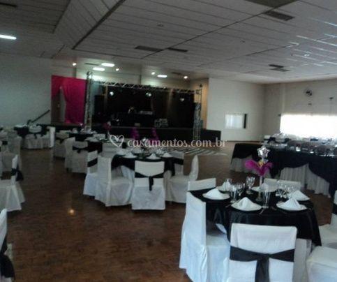 Elegante salão para seu evento