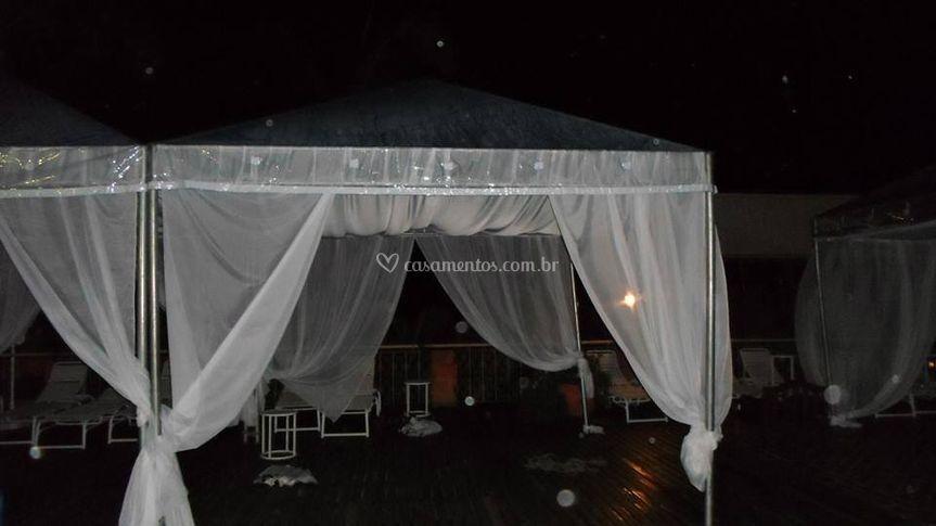 Tenda Cristal com forro