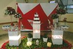 Mesa da noiva de Espa�o Columbia