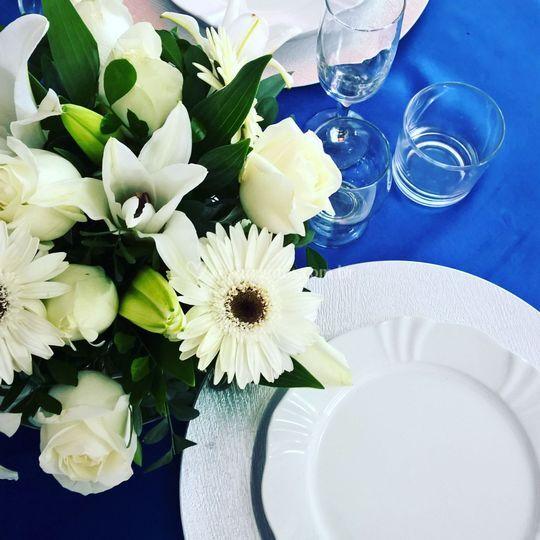 Centro para mesa de convidados