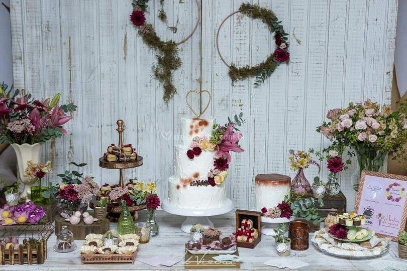 Mesa linda com nossos doces