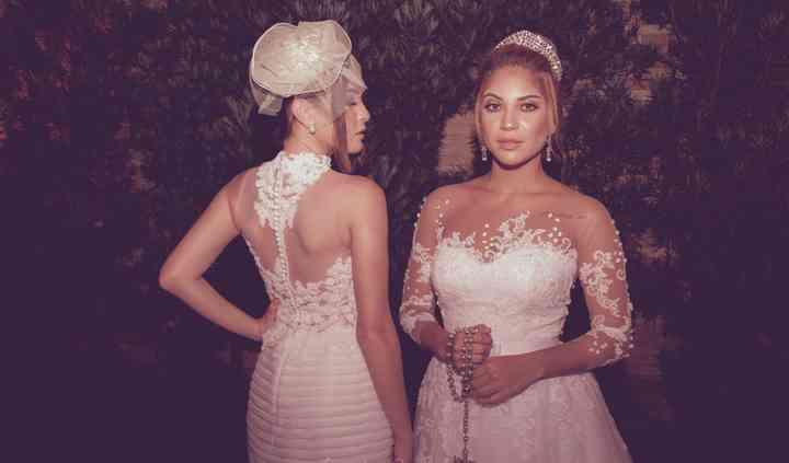 Vestidos de noivas para noite