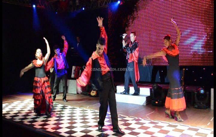 Show espanhol de Banda Novo Estilo