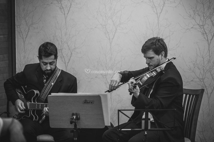 Duo violão e violino