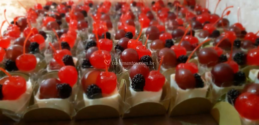 Cestinha de Frutas Vermelhas
