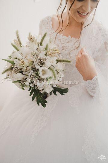 Noiva e sua beleza