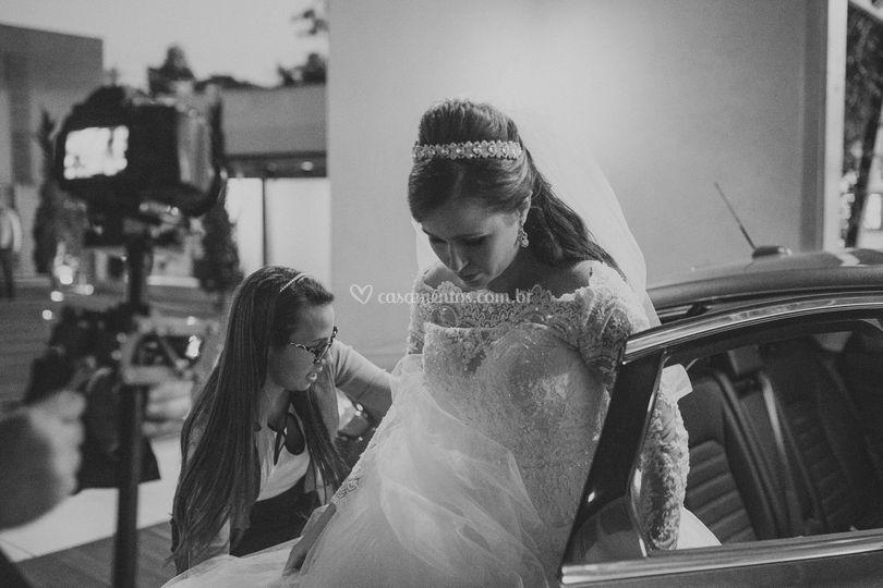 Cuidado especial com a noiva