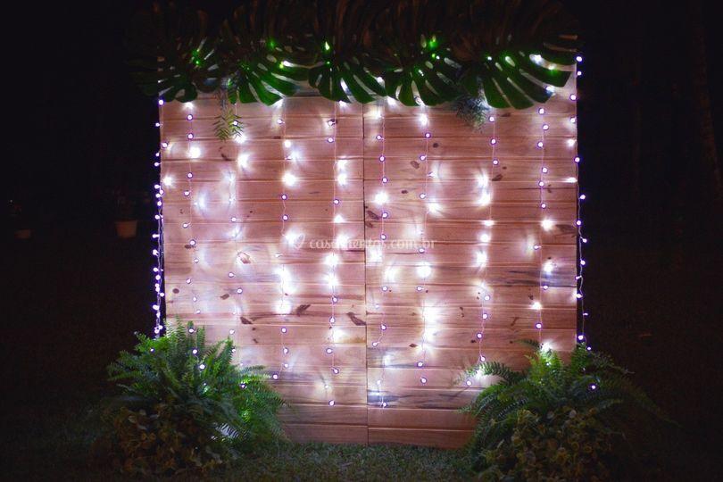 Biombos e iluminação
