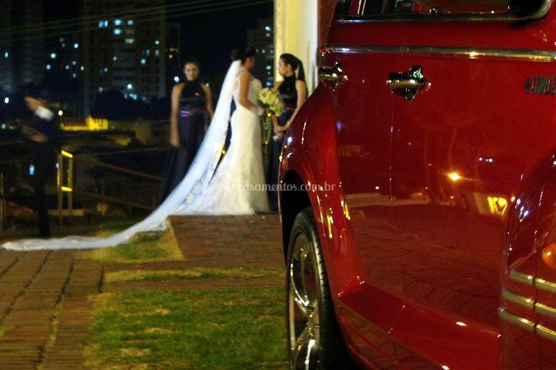 O Carro da Noiva perfeito