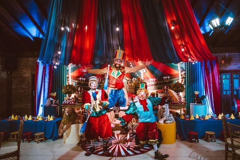 Circo do Gabriel 1 ano