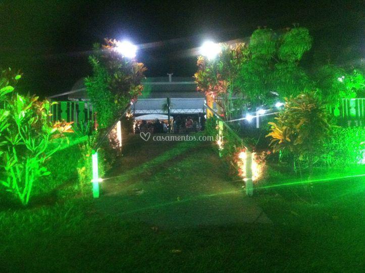 Luz decorativa