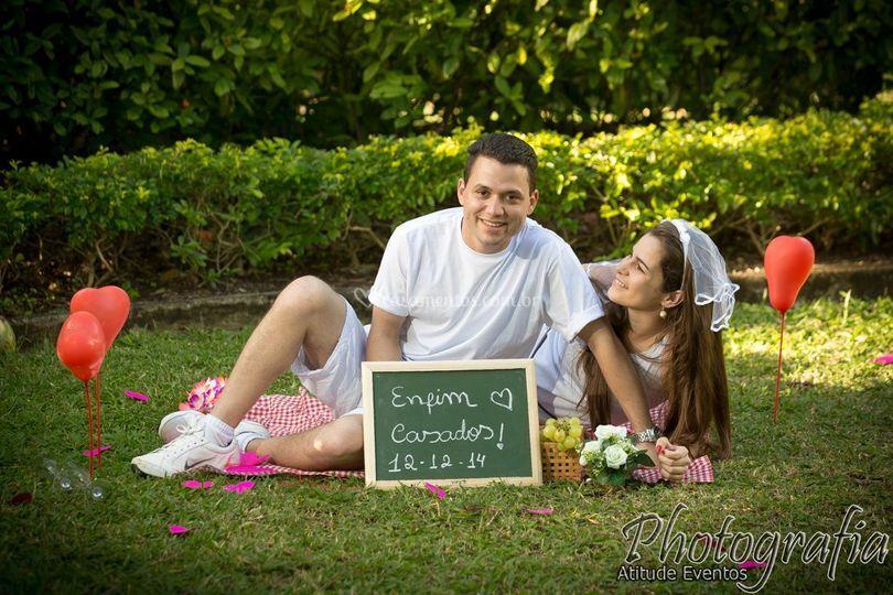Pré wedding no Jardim
