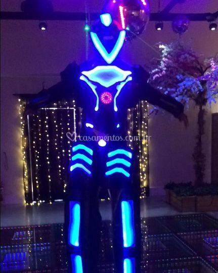 Megatron Robô de led