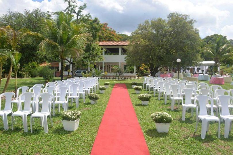 Opção de local para cerimônia