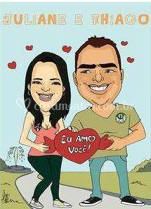 Juliane e Thiago
