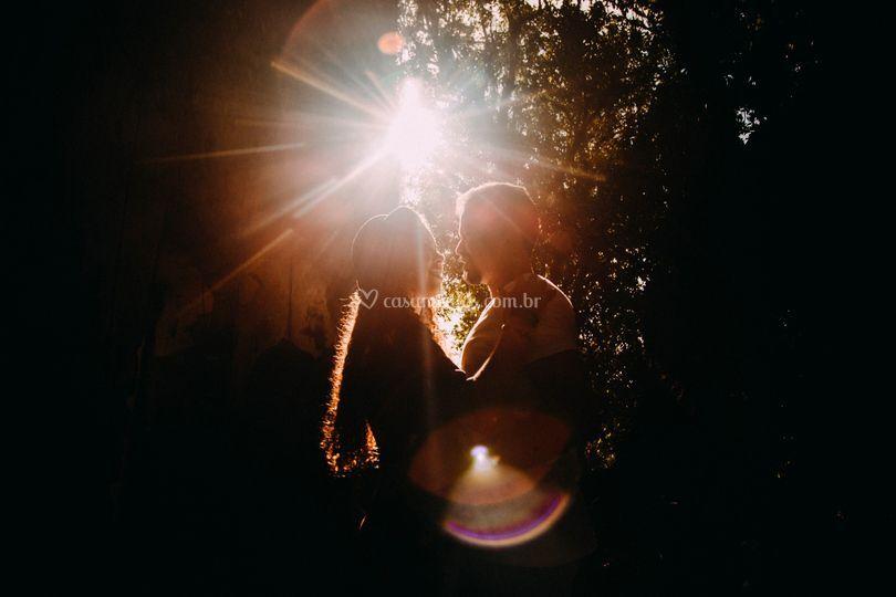 Luz e amor.
