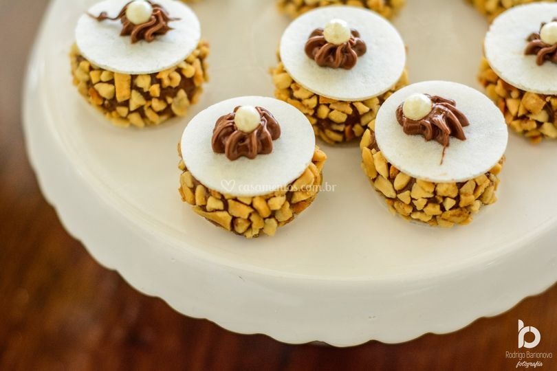 Hóstia de amendoim e nitela