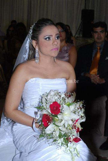 Noiva na hora do sim