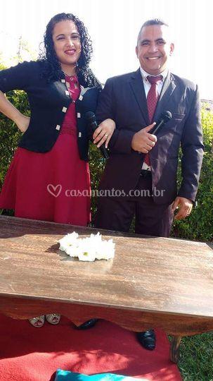 Vicente e Sheila Ribeiro