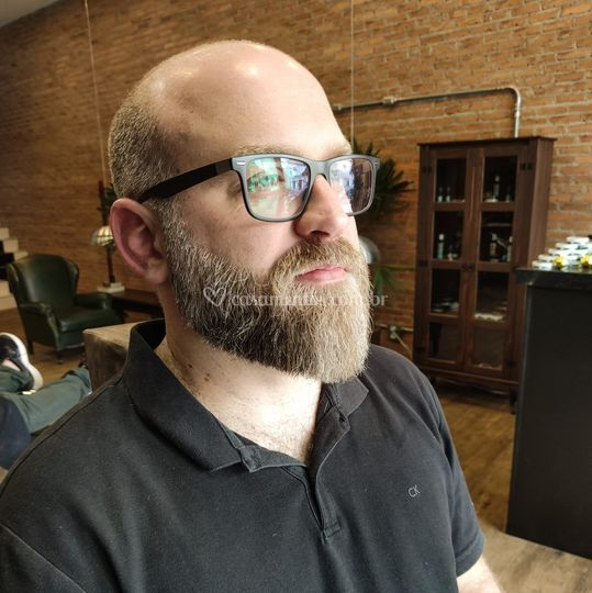 Barba modelada