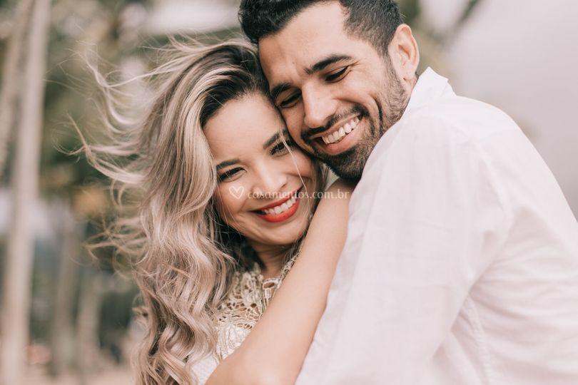 Viviane e Sandro Ensaio