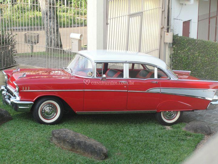 Bel Air 1957 - vermelho