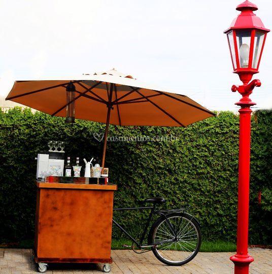 Bar café bike