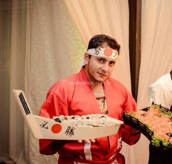 Sushiman e festival de sushi