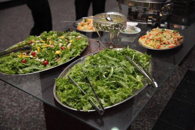 Saladas frescas