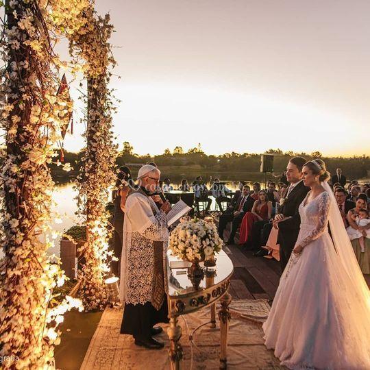 Casamento vila dos lagos