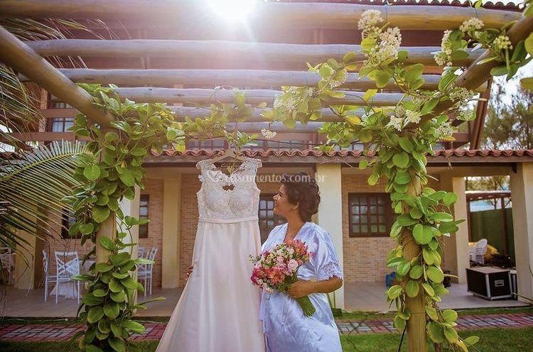 Making off de um dia de noiva